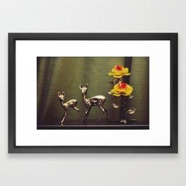 Ciervitos Framed Art Print