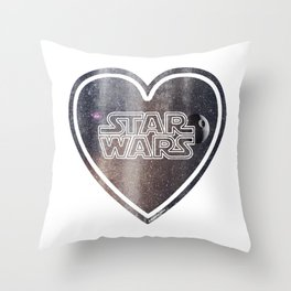 Heart Wars 2 Throw Pillow