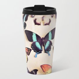 Butterfly Collection Metal Travel Mug