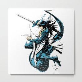 Sindbad Djinn Equip Baal Manga Metal Print