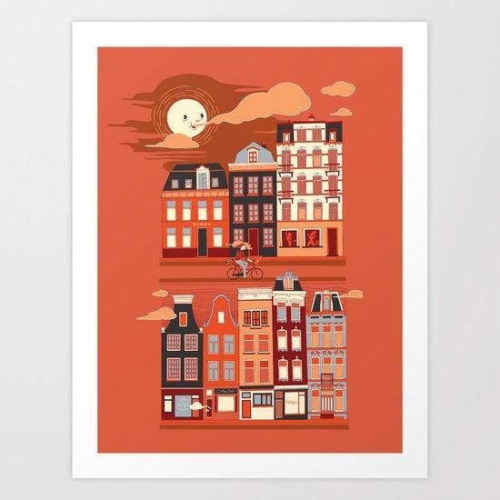 Amsterdam! Art Print