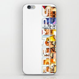 scamble too iPhone Skin