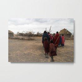 Maasai I Metal Print