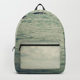 Boating By The Spit Backpack