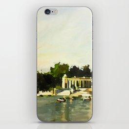 The Lake at Buen Retiro Park iPhone Skin