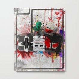 RETRO NES Metal Print