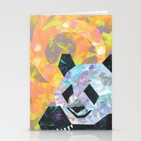 pandas Stationery Cards featuring Pandas by DanielleArt&Design