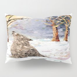 Wolf Serenade Pillow Sham