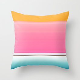 Going for the Kiss Throw Pillow