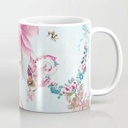 Marie Antoinette Wallflower Coffee Mug