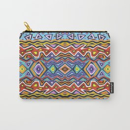 Colorful Life Tribal Pattern Carry-All Pouch