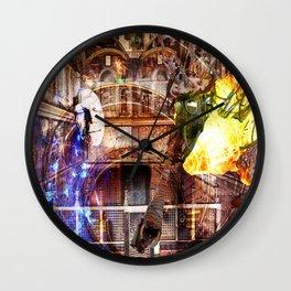 N-Glext Light and Dark Dispute Wall Clock