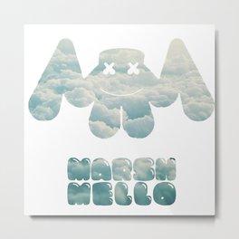 Marshmello montage Metal Print