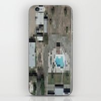 las vegas iPhone & iPod Skins featuring Las Vegas by Mark John Grant