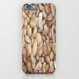 Harvested Almonds iPhone Case