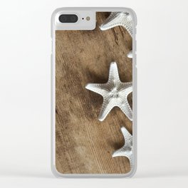 starfish 3 Clear iPhone Case