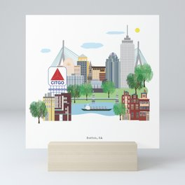 Boston Mini Art Print