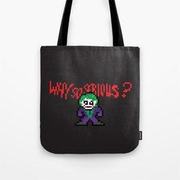 The Dark Pixel Tote Bag