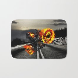 ghost rider Bath Mat