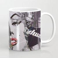 monroe Mugs featuring Monroe by Ross Collins Artist