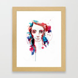 Dont be shy Framed Art Print