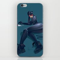 catwoman iPhone & iPod Skins featuring CATWOMAN by orlando arocena ~ olo409- Mexifunk
