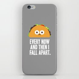 Taco Eclipse of the Heart iPhone Skin