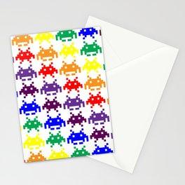 Rainbow Invasion Stationery Cards