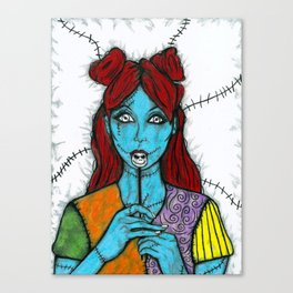 SALLY - THE NIGHTMARE BEFORE CHRISTMAS Canvas Print