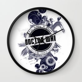 i'm the doctor Wall Clock