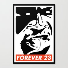 Obey Forever 23 Canvas Print