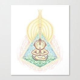 Shipibo Meditation Canvas Print