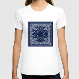Bandana - Navy Blue - Boho T-shirt