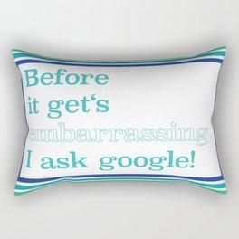 Embarrassing Story Rectangular Pillow