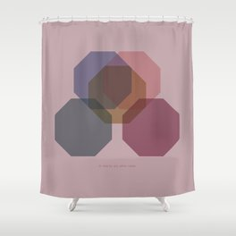Rose Eight Shower Curtain