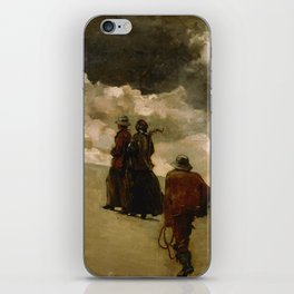 Winslow Homer - To the Rescue, 1886 iPhone Skin
