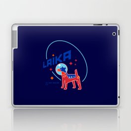 laika space dog Laptop & iPad Skin