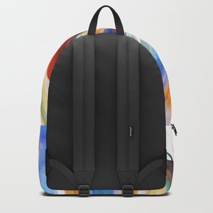 Colorful Splash Backpack