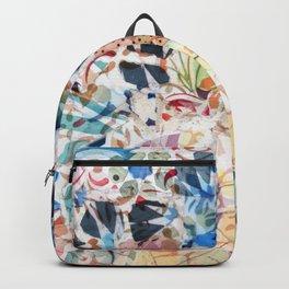 Mosaic of Barcelona VI Backpack