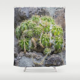 Lonely Cacti Shower Curtain