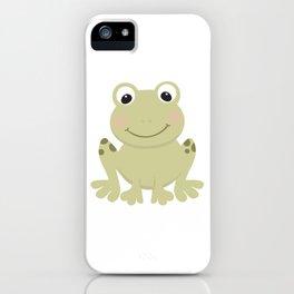 Cute Cartoon Frog iPhone Case