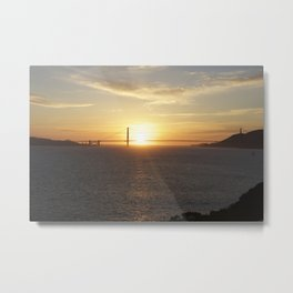 Golden Gate Bridge #1 Metal Print