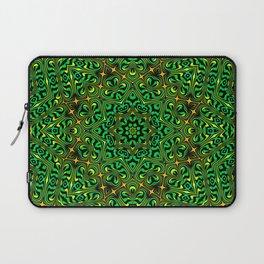 Orange Yellow and Green Kaldeidoscope 4 Laptop Sleeve