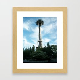 Seattle Space Needle Framed Art Print