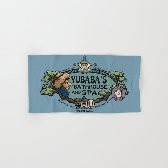 Yubaba's Bathhouse Hand & Bath Towel