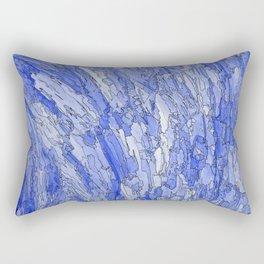 Waves of Life. Rectangular Pillow