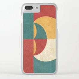 Lunar Phase Clear iPhone Case
