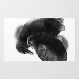 Dark wings Rug