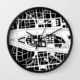 Île de la Cité. Paris Wall Clock