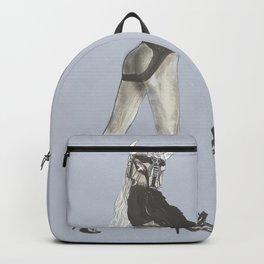 387. Pinup Gladiator Devil Girl Backpack